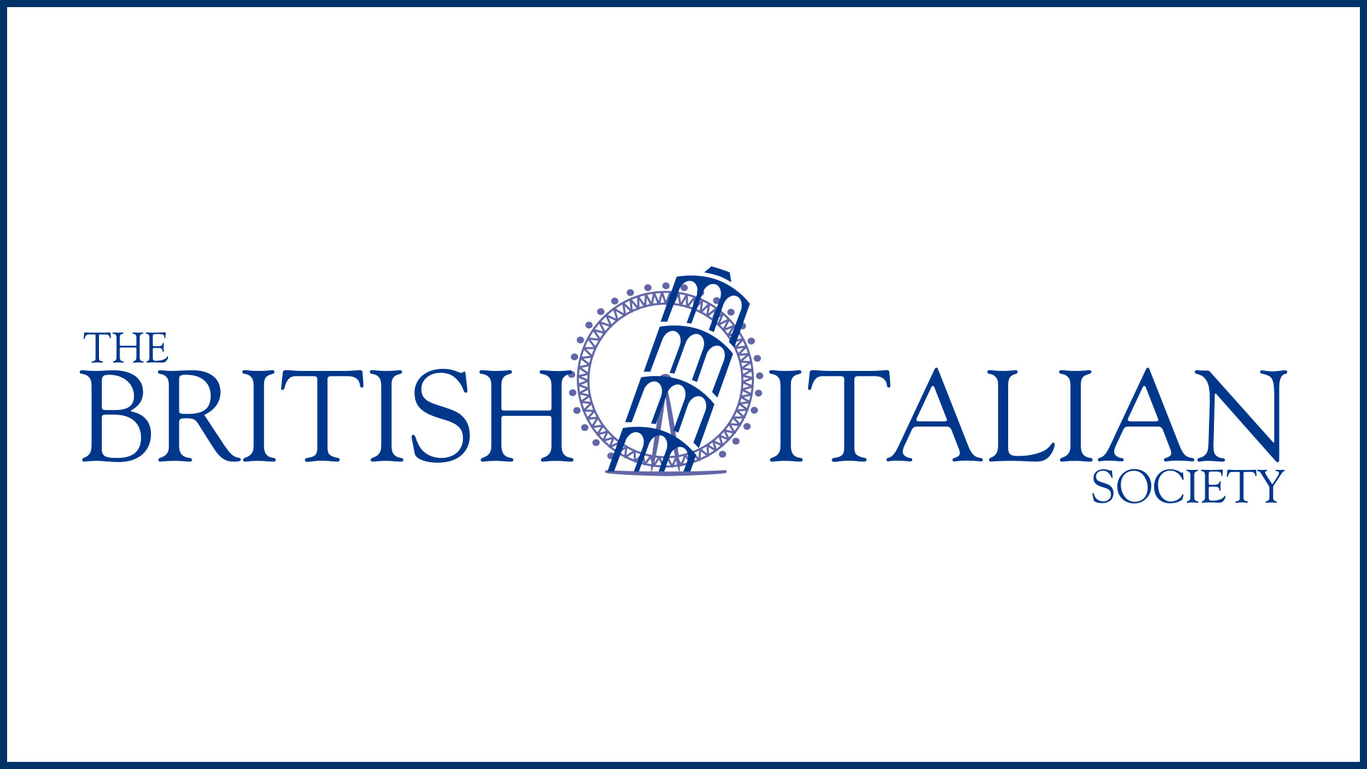 The British-Italian Society's forthcoming events