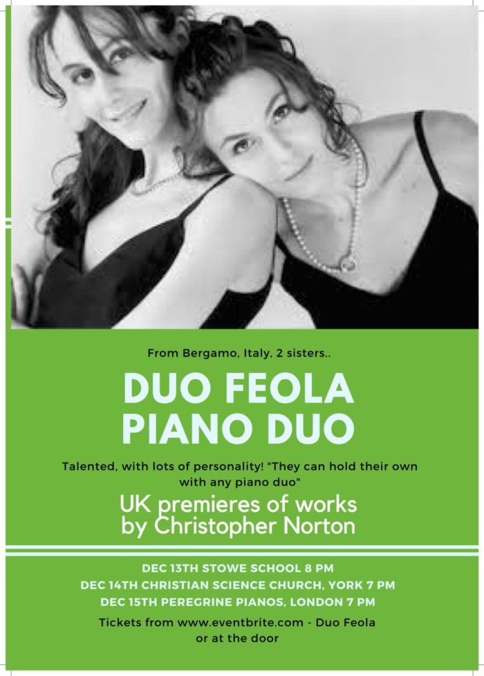 Duo Feola - a piano duo from Bergamo