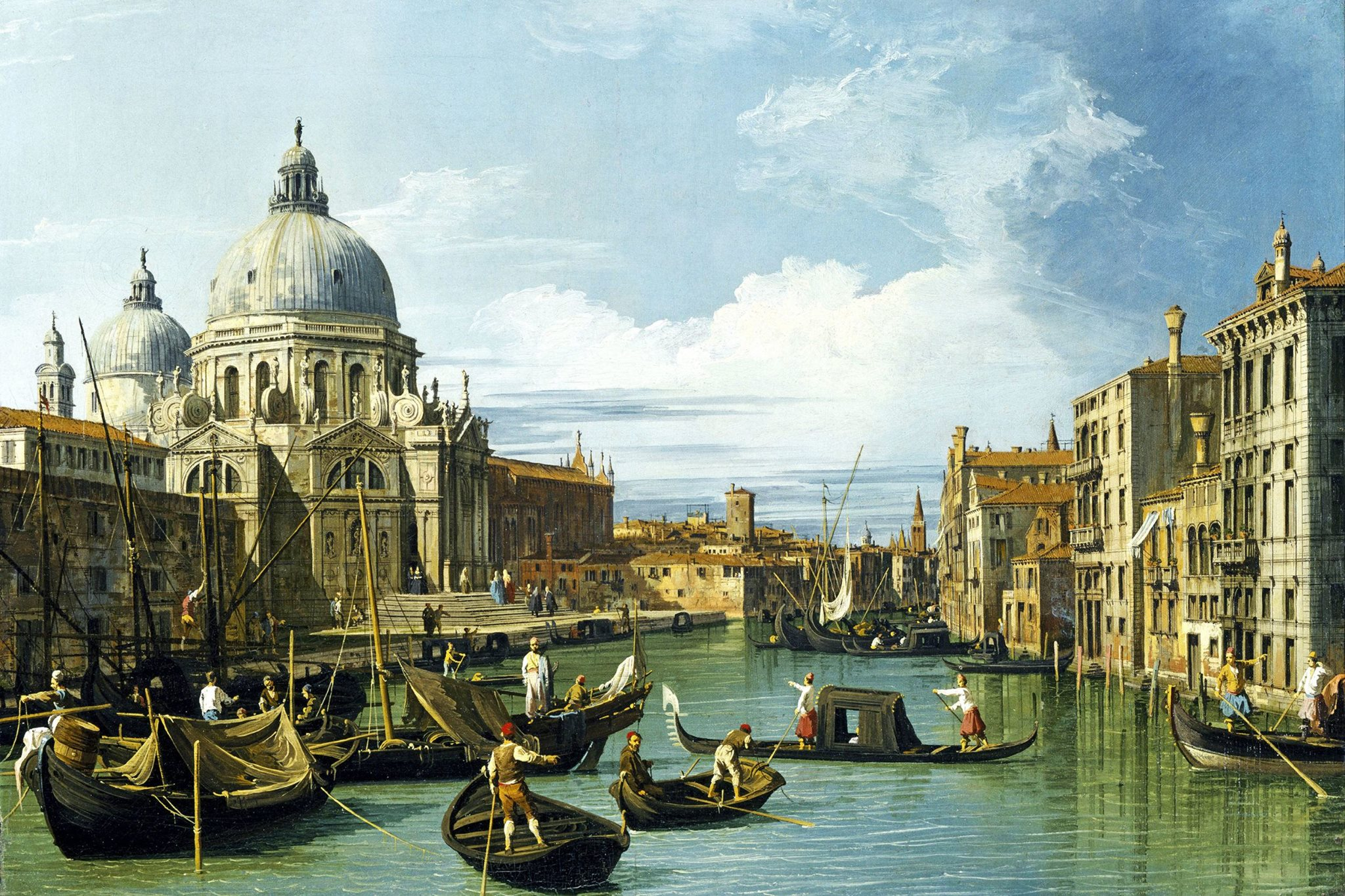 ITV SERIES 'GREAT ART' BEGINS ON 4 January: Canaletto & The Art of Venice