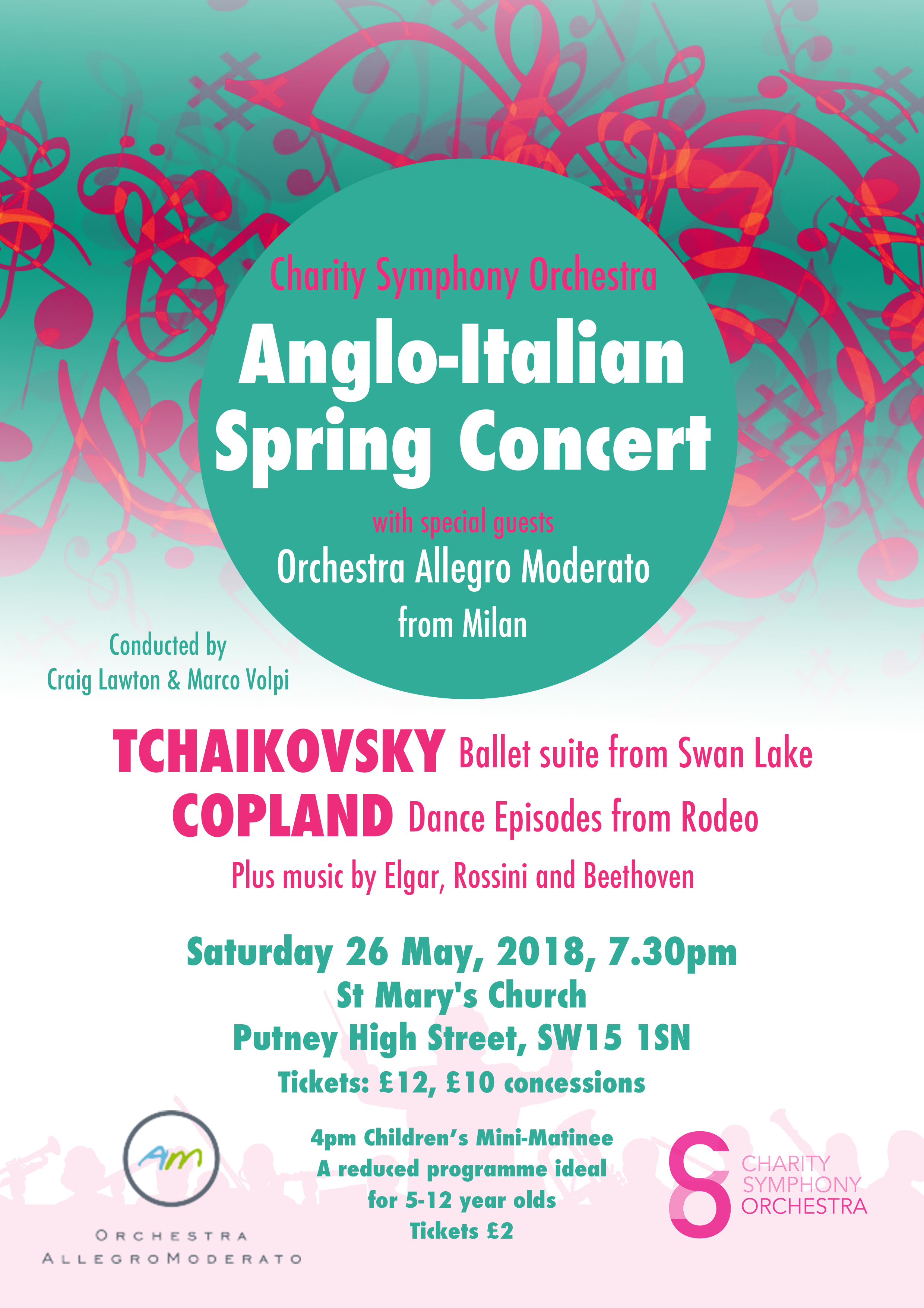 Anglo-Italian Spring Concert