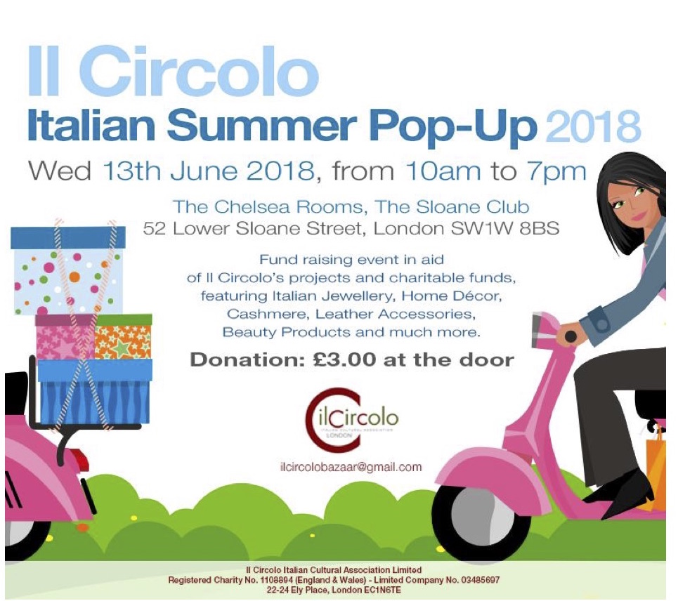 Il Circolo Italian Summer Pop-Up 2018