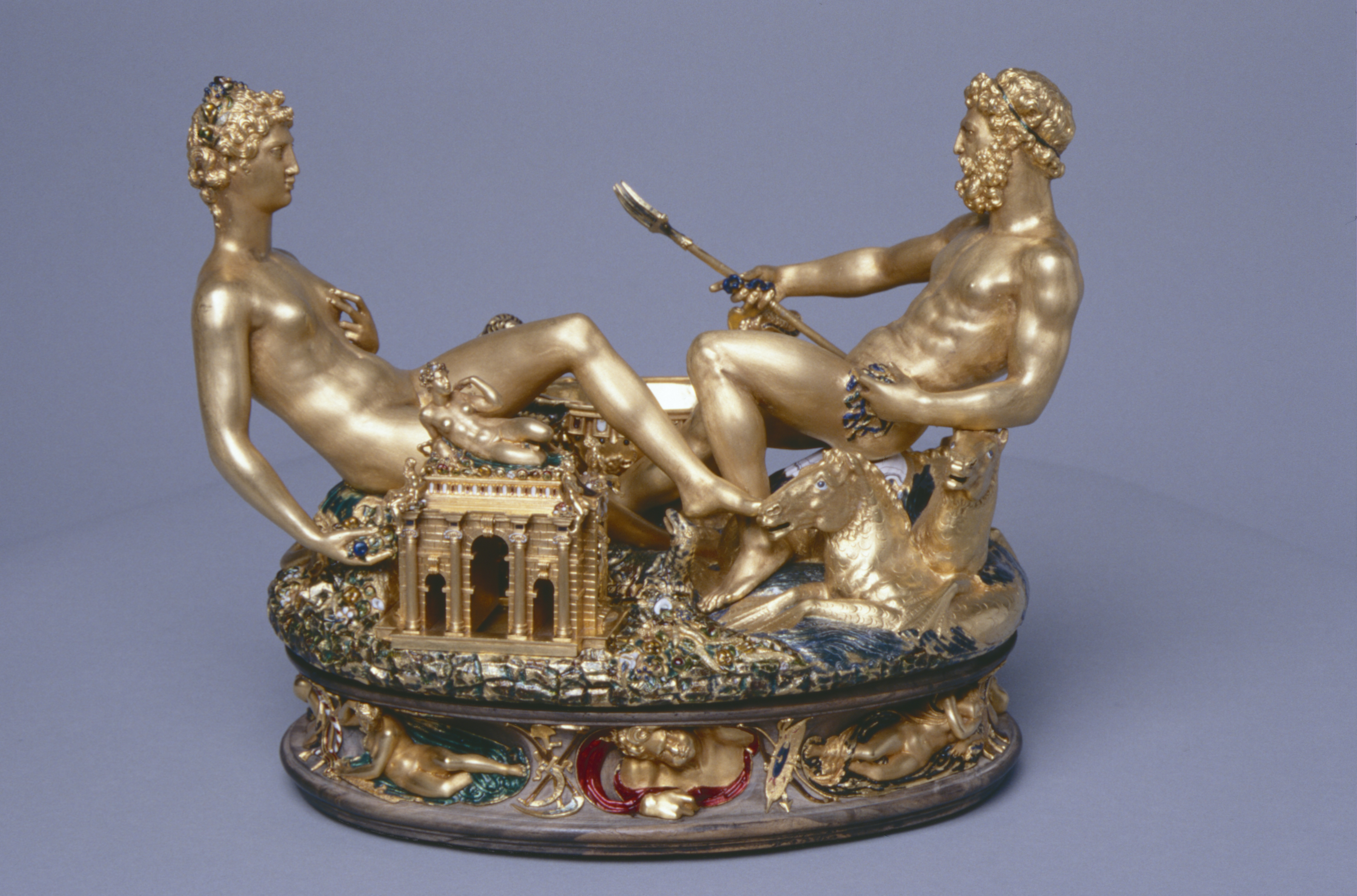 Cellini's Gold Salt-Cellar: A Masterpiece of Mannerism - a talk by Dr Charles Avery