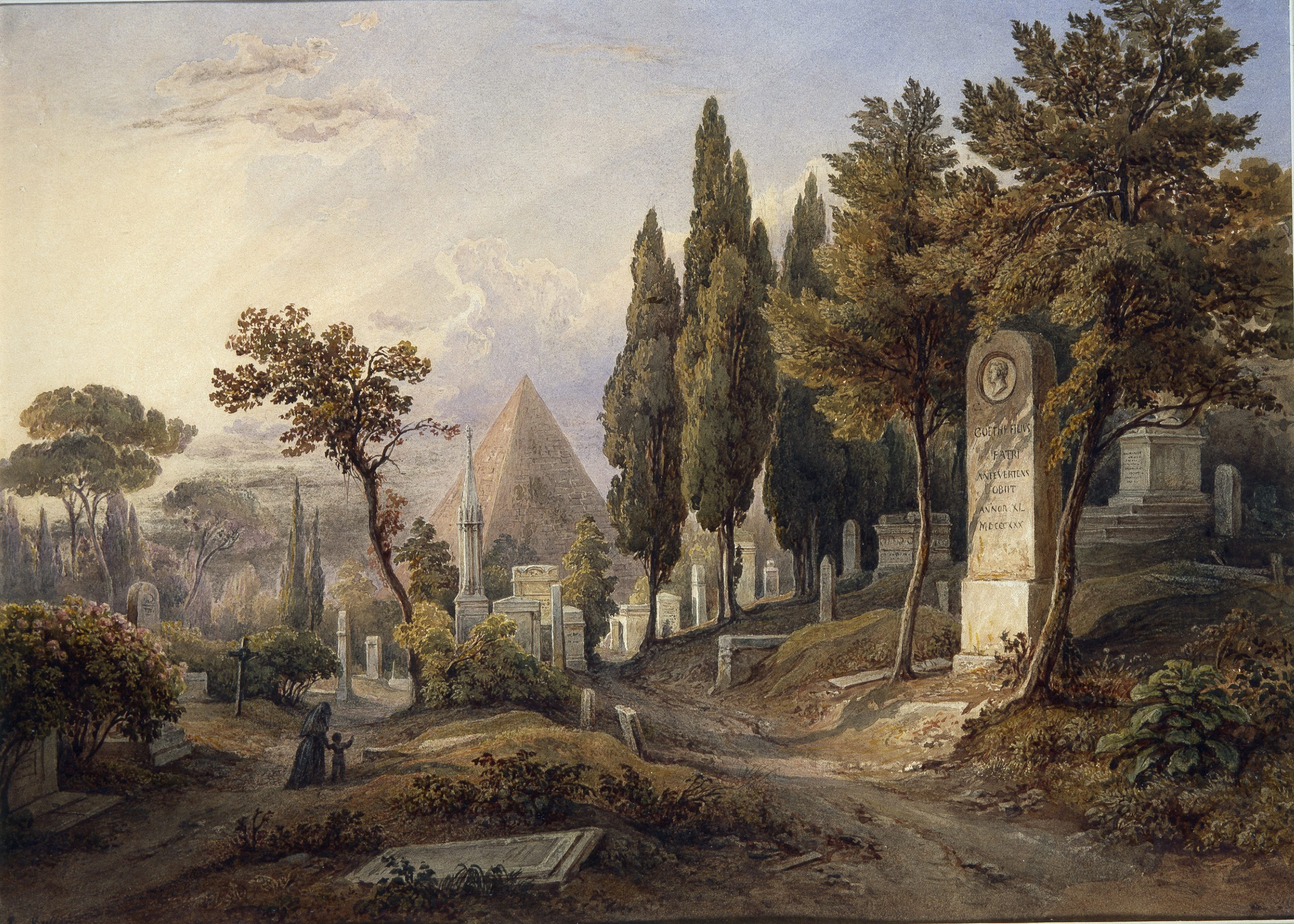 THE PROTESTANT CEMETERY AT ROME IN ART AND HISTORY - a talk by Nicholas Stanley-Price